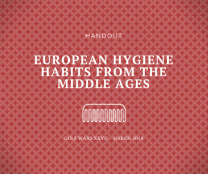 Middle Ages Cosmetics and Hygiene